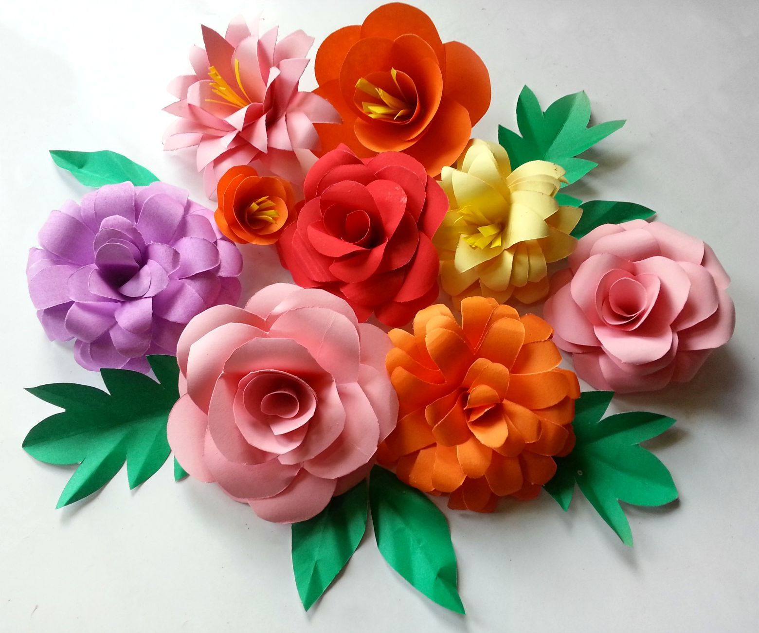 Making Paper Flowers Great Yesuwe Put These These Beautiful Big